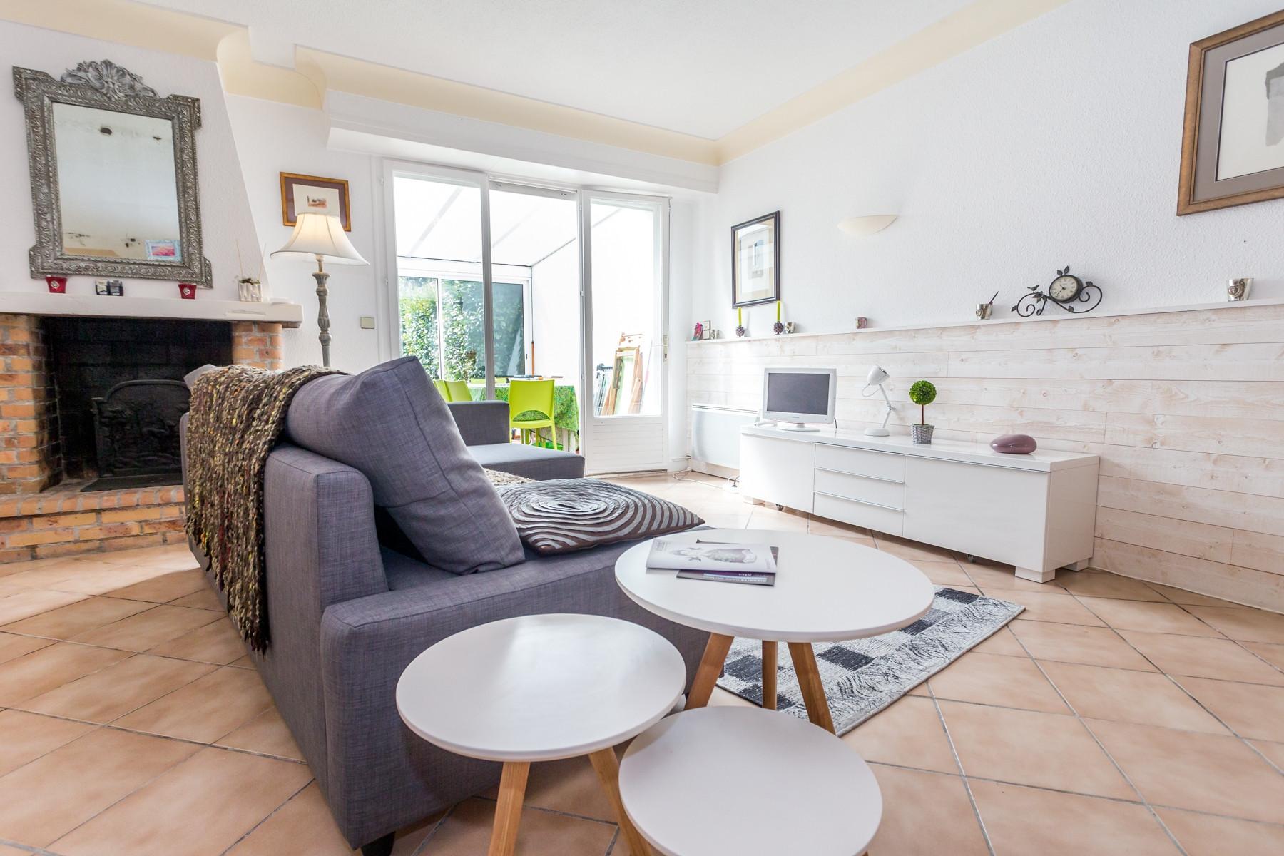 Biarritz jardin public maison de ville avec jardin et wifi gratuit